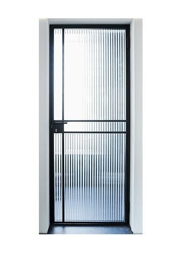 Drzwi loftowe stalowe