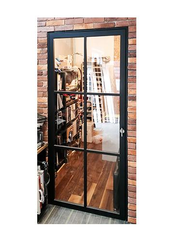 Drzwi loftowe drewniane