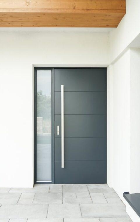 Drzwi zewnętrzne Frax 07 antracyt